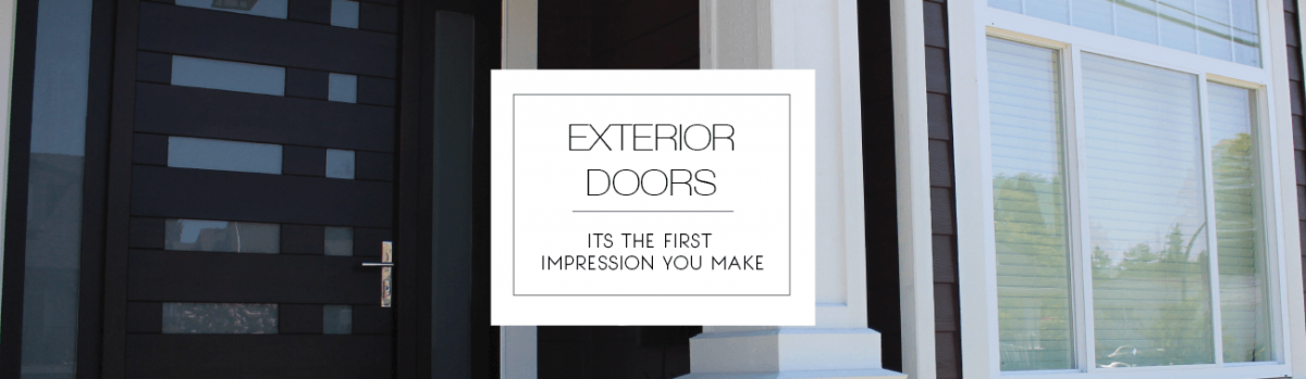Exterior Doors For Surrey Vancouver Active Doors