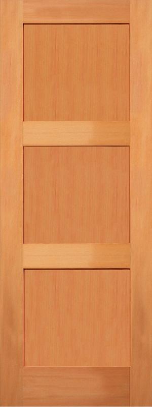 707 3 Panel Shaker Fir Active Doors
